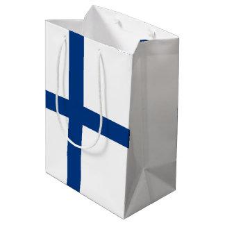Finland Flag Medium Gift Bag