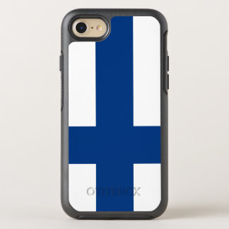 Finland Flag OtterBox Symmetry iPhone 8/7 Case