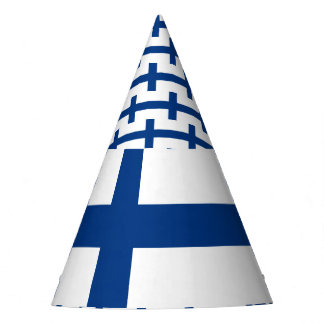 Finland Flag Party Hat