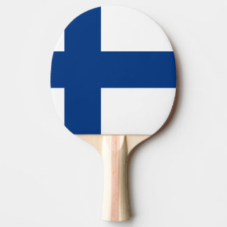 Finland Flag Ping Pong Paddle