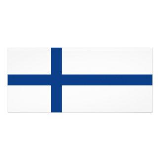 Finland Flag Rack Card