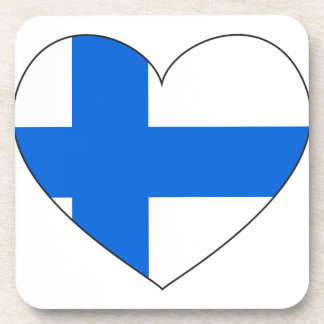 Finland Flag Simple Coaster