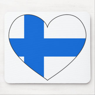 Finland Flag Simple Mouse Pad