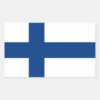 Finland Flag Sticker* Rectangular Sticker