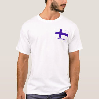 "Finland Flag   ""SUOMI"" T-Shirt"