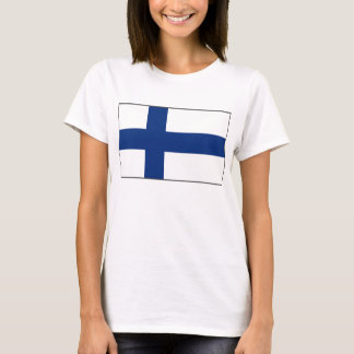 Finland Flag x Map T-Shirt