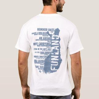 Finland Funland List 3 Back T-shirt