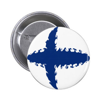 Finland Gnarly Flag Button