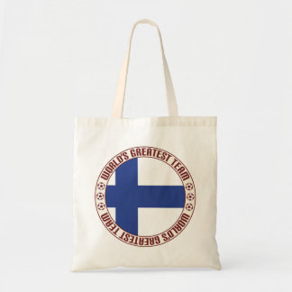 Finland Greatest Team Budget Tote Bag