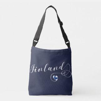Finland Heart Bag, Finnish Finn Crossbody Bag