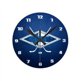 Finland Ice Hockey Clock, Suomalainen Jääkiekko Round Clock