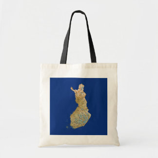 Finland Map Bag