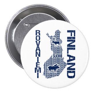 FINLAND MAP button - Rovaniemi
