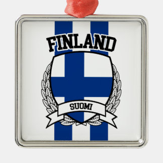 Finland Metal Ornament