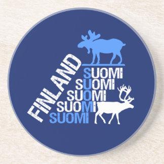 Finland Moose & Reindeer coaster