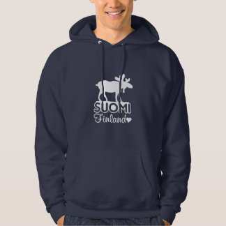Finland Moose shirt - choose style & color
