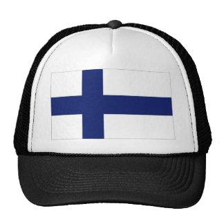 Finland National Flag Mesh Hats