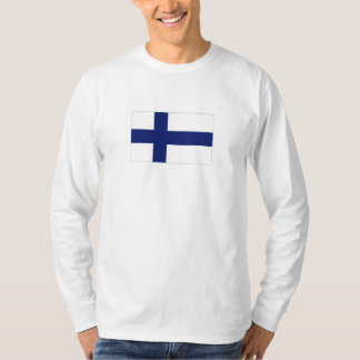 Finland National Flag T-Shirt