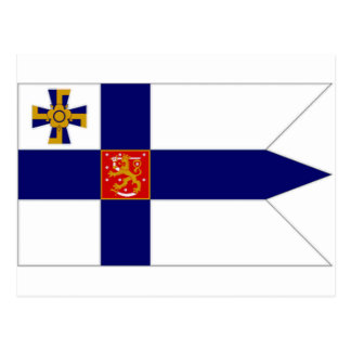 Finland President Flag Postcard