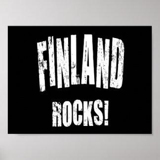 Finland Rocks! Poster