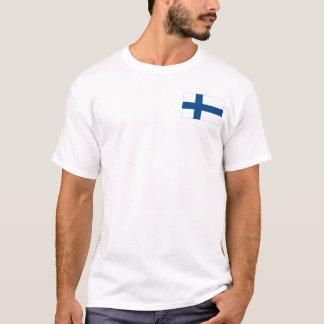 Finland SISU + Flag Premium White T-Shirt