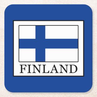Finland Square Paper Coaster