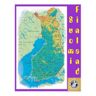 Finland, Suomi Postcard
