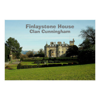 Finlaystone House – Clan Cunningham Poster