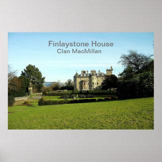 Finlaystone House – Clan MacMillan Poster