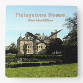 Finlaystone House Square Wall Clock