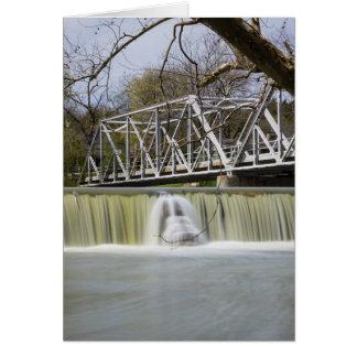 Finley Dam After The Rain Card