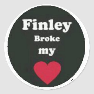 Finley Stickers