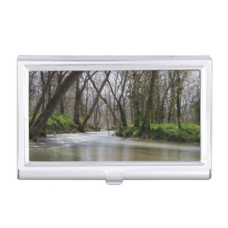 Finley Tranquility In Spring Time Business Card Holder