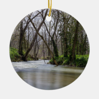 Finley Tranquility In Spring Time Ceramic Ornament