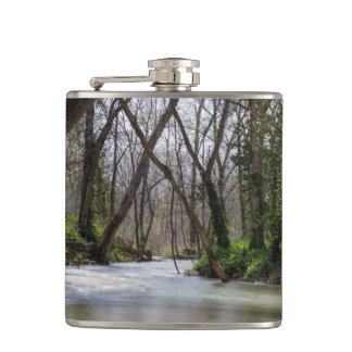 Finley Tranquility In Spring Time Hip Flask