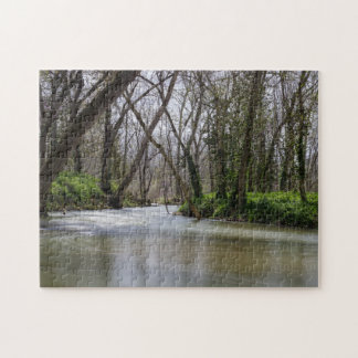 Finley Tranquility In Spring Time Jigsaw Puzzle