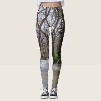 Finley Tranquility In Spring Time Leggings