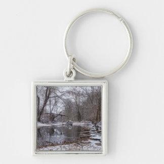 Finley Winter Snow Key Ring