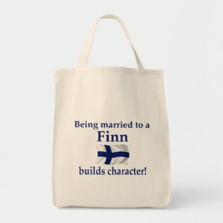 Finn Builds Character Tote Bag