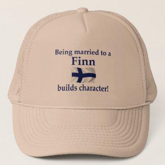 Finn Builds Character Trucker Hat