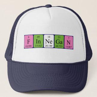 Finnegan periodic table name hat