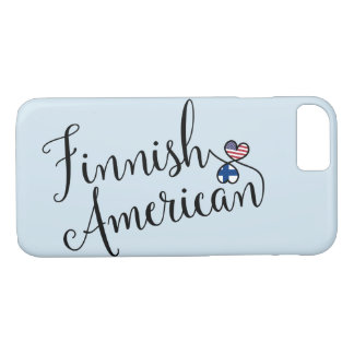Finnish American Entwined Hearts Mobile Phone Case