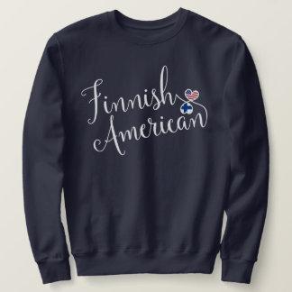 Finnish American Entwinted Hearts Sweatshirt