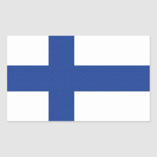 Finnish Flag custom stickers