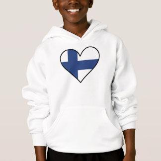 Finnish Flag Heart