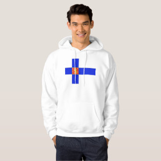 Finnish flag hoodie