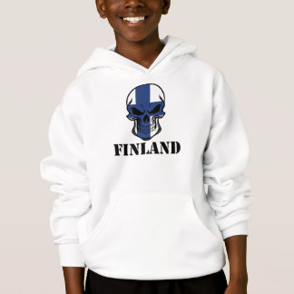 Finnish Flag Skull Finland