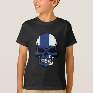 Finnish Flag Skull T-Shirt