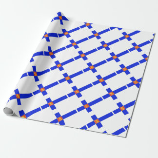 Finnish flag wrapping paper