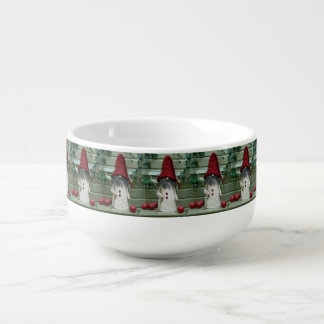 ***FINNISH GNOME*** CHRISTMAS SOUP BOWL